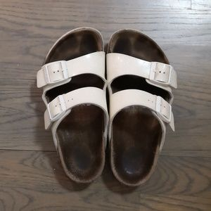Birkenstock girls glitter arizona sandal 34